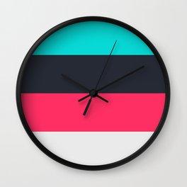 Color Palette 2 Wall Clock