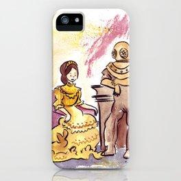 Victorian Couple iPhone Case