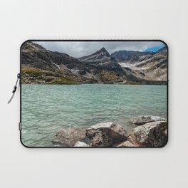 Weissee lake in Alps Laptop Sleeve