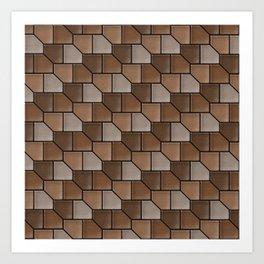 Geometrix LXXXII Art Print