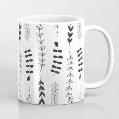 Botanical Illustration Pattern N1 Mug