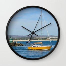 Port exit, Tavira Wall Clock