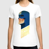 europe T-shirts featuring Captain Europe by Robert Farkas