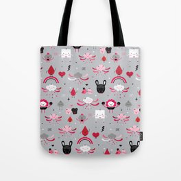 Bloody Family pattern Tote Bag