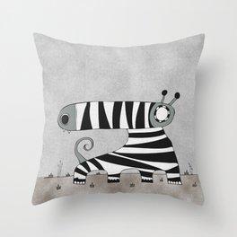 Grey Mummynimal Throw Pillow