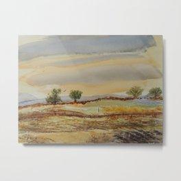 Peaceful land Metal Print