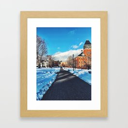 Plymouth State Framed Art Print