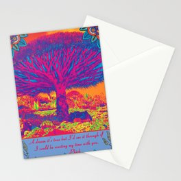 Wasting My Time With You Stationery Cards