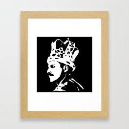 PORTRAIT OF A ROCK MEGA SUPERSTAR Framed Art Print
