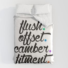 flush offset camber fitment v5 HQvector Comforters