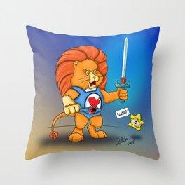 Braveheart Lion O Throw Pillow