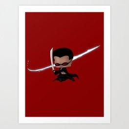 Chibi Blade Art Print