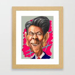 Ronald Reagan Framed Art Print