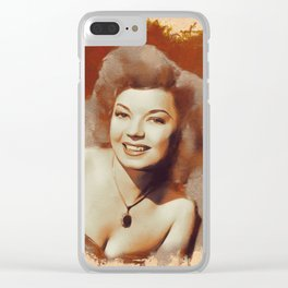 Frances Langford, Hollywood Legend Clear iPhone Case