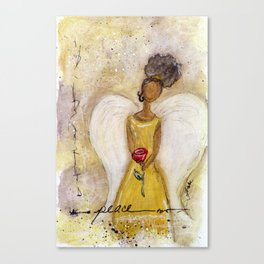 Angel of Peace 2 Canvas Print