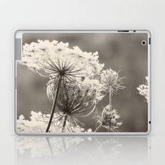 Lace in the Meadow BW II Laptop & iPad Skin