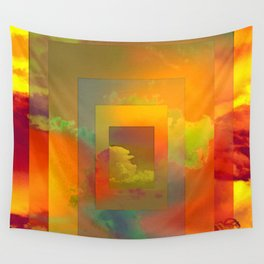 GOLDEN SLUMBERS (once there was a way to get back homeward...) Wall Tapestry