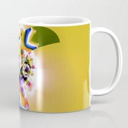 Fractal Paradise Bird Coffee Mug