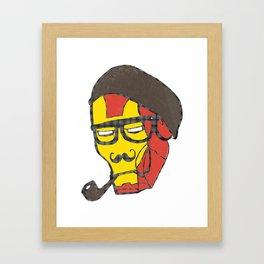 Ironic Man Framed Art Print