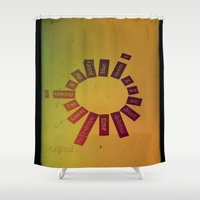 poem Shower Curtains featuring Infinite Words Poem  by Brycical