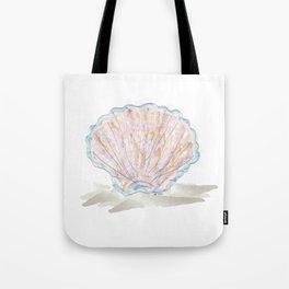 Seashell Abstract Watercolor  Tote Bag