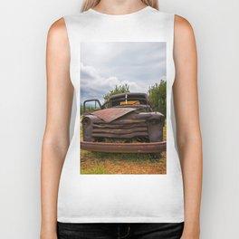 Old Chevy Truck Biker Tank