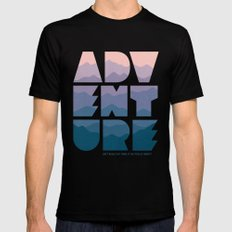 Adventure (Isn't really my thing...) Black MEDIUM Mens Fitted Tee