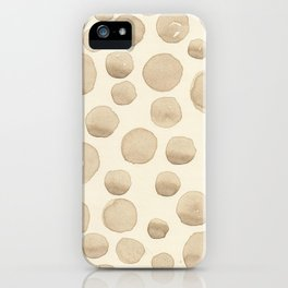 ARTICHOKE'S BUBBLES iPhone Case