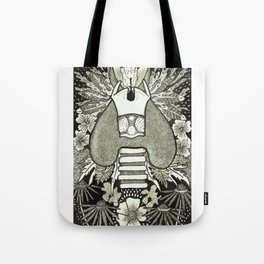 The Anatomical Thyroid- Organs and Herbs series Tote Bag