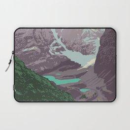 Yoho National Park Poster Laptop Sleeve