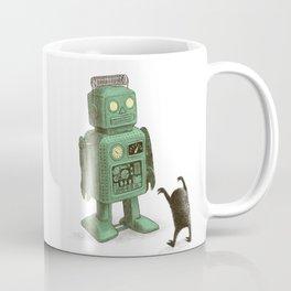 Robot vs Alien Coffee Mug