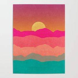 Minimal Landscape 13 Poster