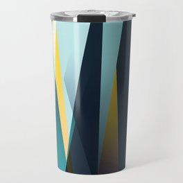 mid century geometry Travel Mug