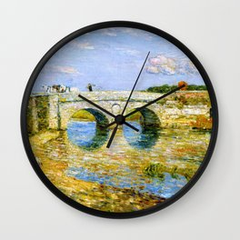 Bridge Over The Stour - Digital Remastered Edition Wall Clock