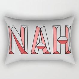 NAH. Rectangular Pillow