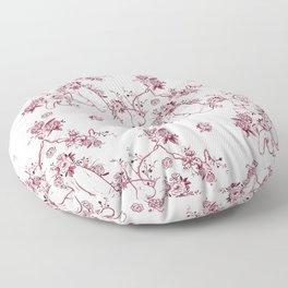 Penis Pattern RED Floor Pillow