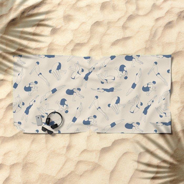 On Your Marks Beach Towel