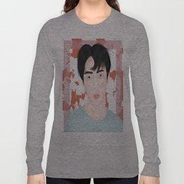 Exo Sehun 'Lucky One' Teaser -Fanart Long Sleeve T-shirt