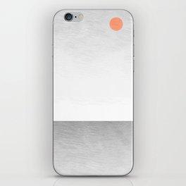 Tree Artwork Grey And Black Landscape iPhone Skin