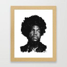Questlove Framed Art Print