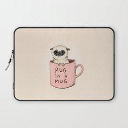 Pug in a Mug Laptop Sleeve