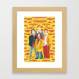Freaks Framed Art Print