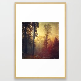 Quite Morning Framed Art Print