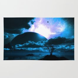 The Blue Planet Rug