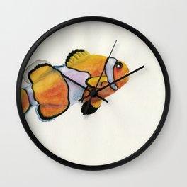 Lonely Clownfish Wall Clock