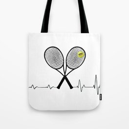 Tennis player funny gift Tote Bag