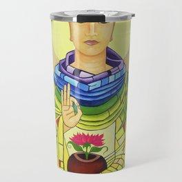 Rainbow Buddha Travel Mug
