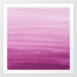 Blossom breeze_abstract watercolour Art Print