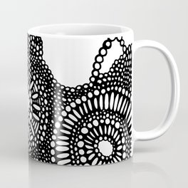 graphic dots pattern Coffee Mug
