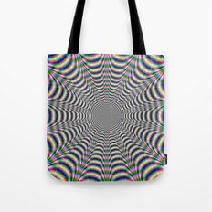 Psychedelic Web Tote Bag